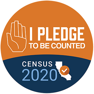 I pledge to be counted - Census 2020