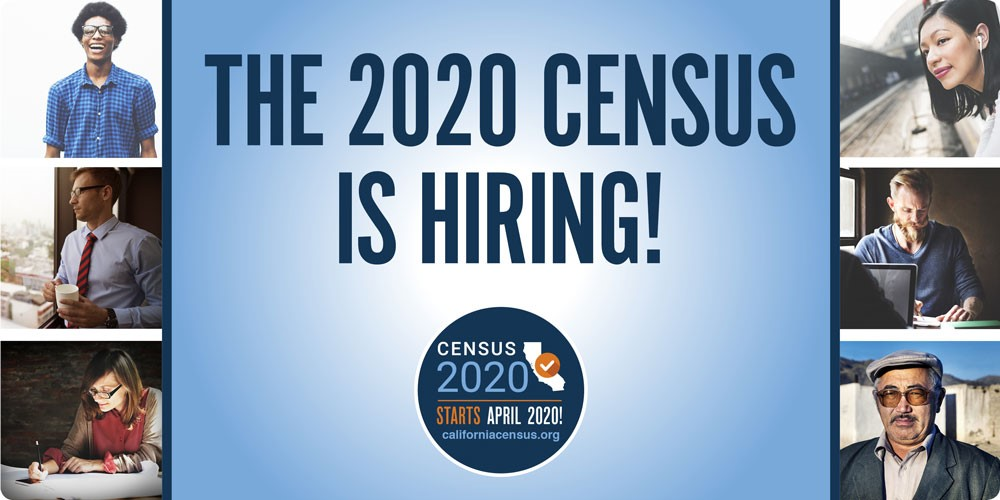 The 2020 Census is Hiring!