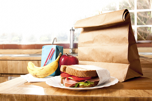 Sandwich and Brown Bag