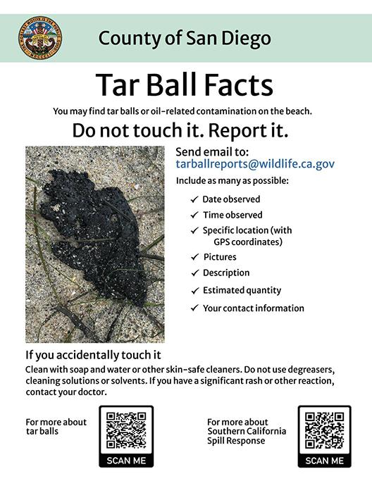 Tar Ball Facts