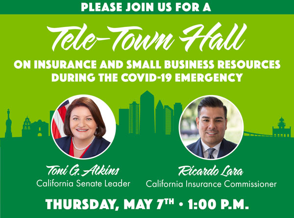Please join us for a tele-town hall - May 7th at 1pm