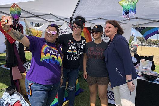 South Bay Pride Selfie